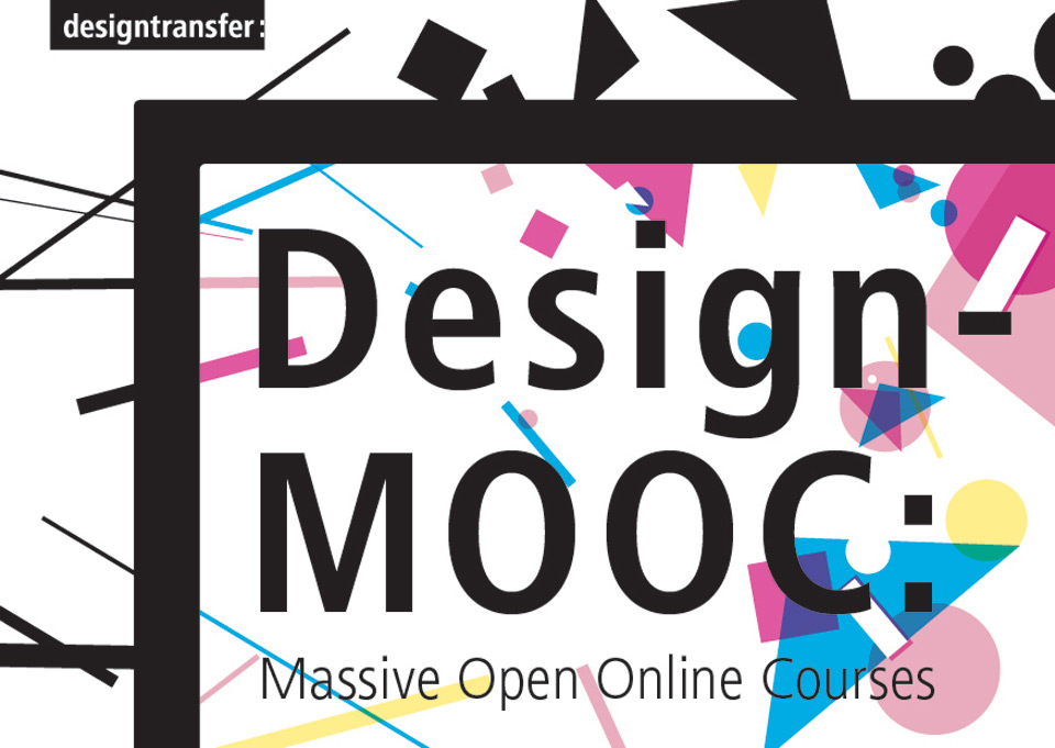 Postkarte Design-MOOC: Open Learning Culture