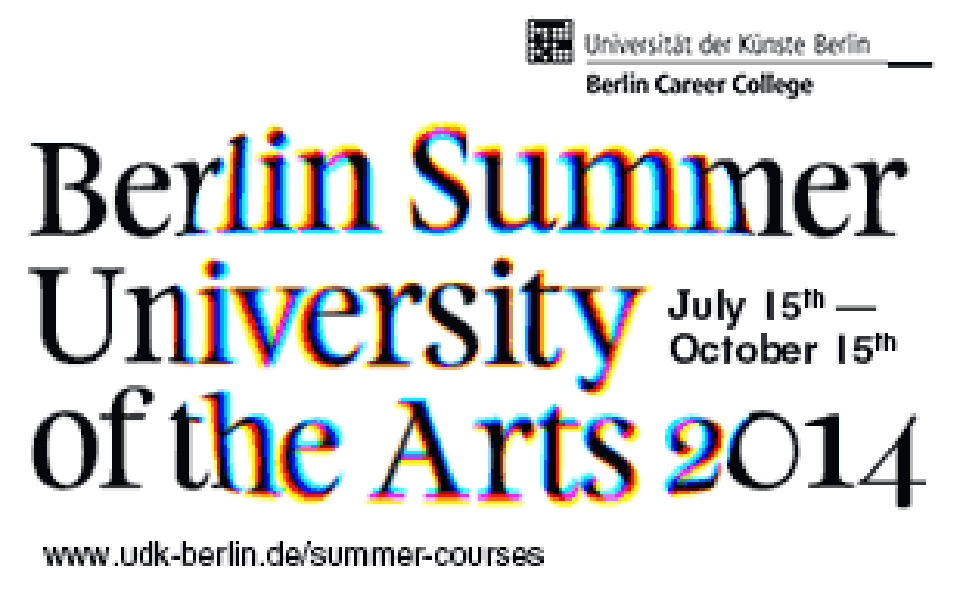 Visual Summer University of the Arts 2014